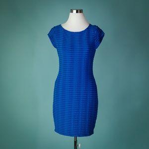 Catherine Malandrino Medium Blue Stretch Dress